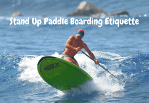 A way to adjust your paddleboard technique